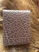 Chacon bifold bison wallet