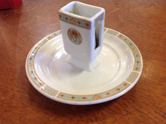 Buffalo athletic club Matchbox holder ashtray