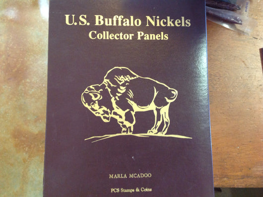 Buffalo nickels collector panels folio