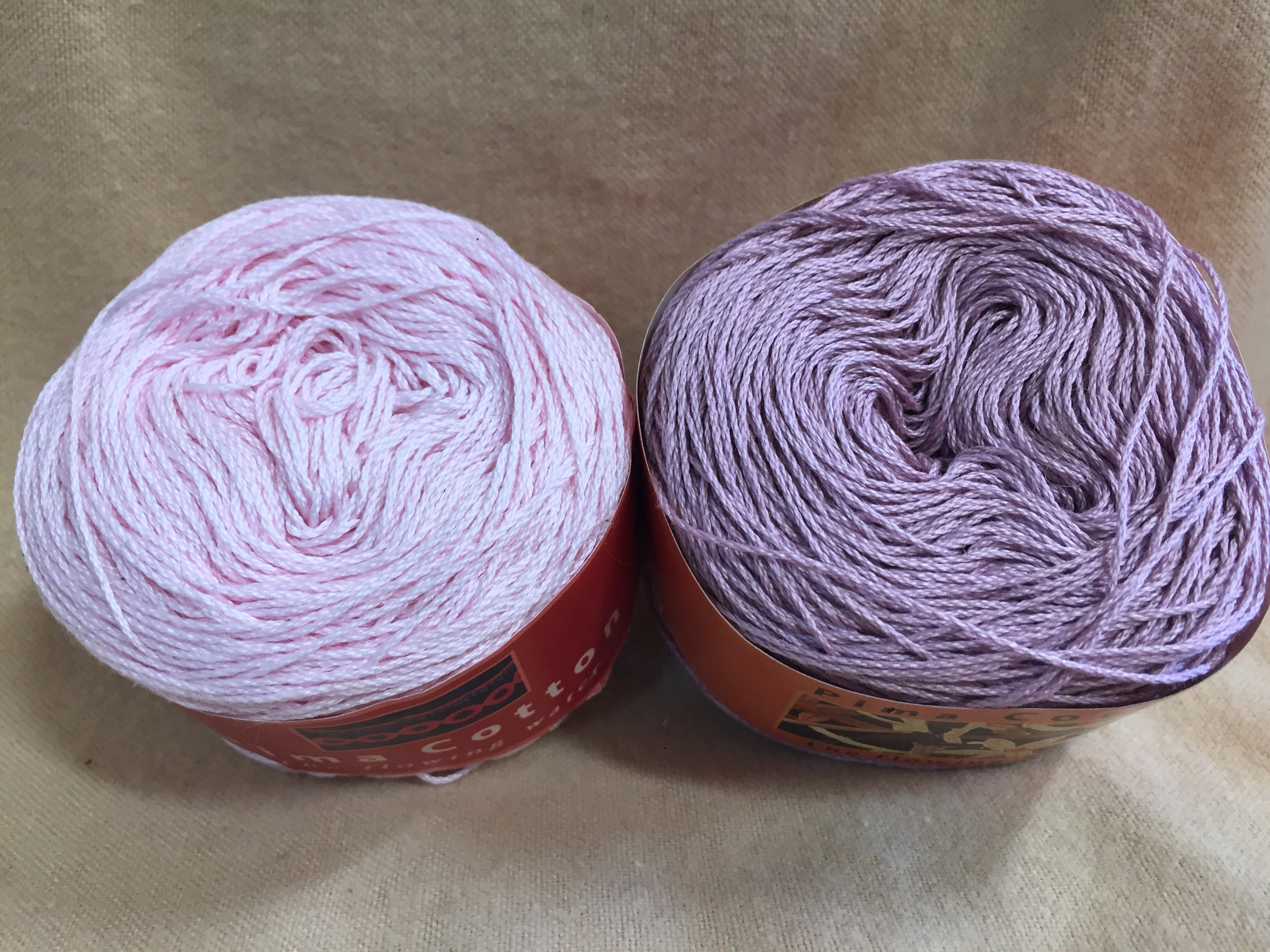 100% Pima Cotton Yarn / 2 Balls / Group #4