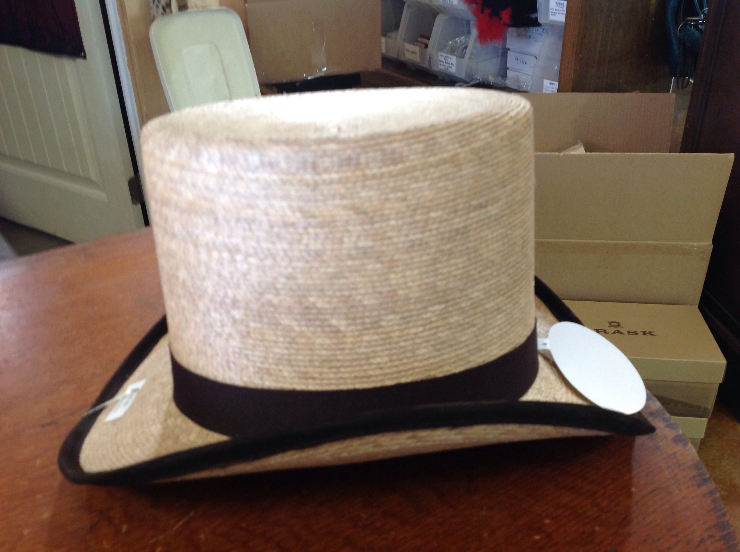 Palm Leaf Top Hat