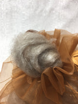 Bison Down & Silk Roving