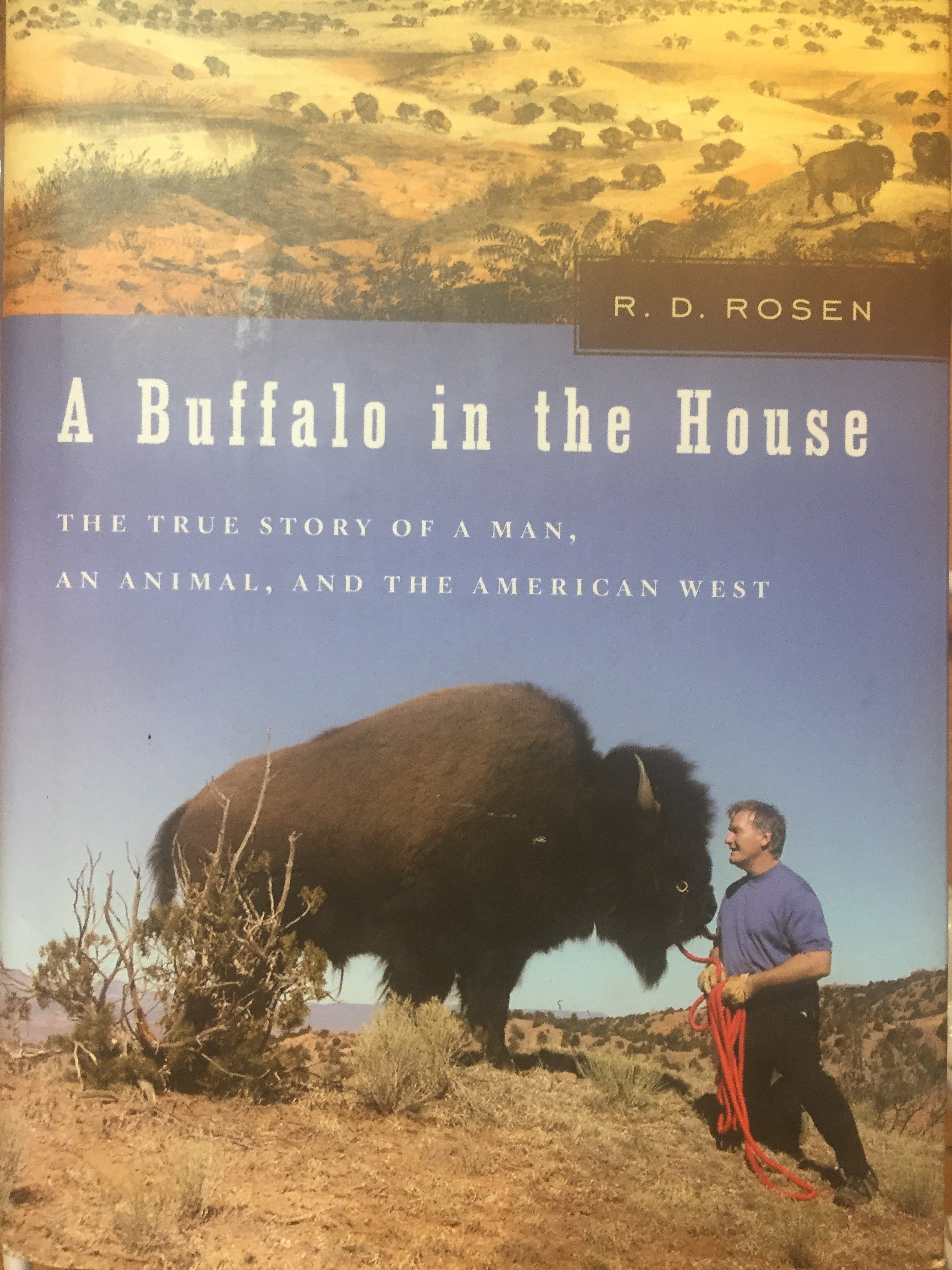 BOOKS - A Buffalo in the House