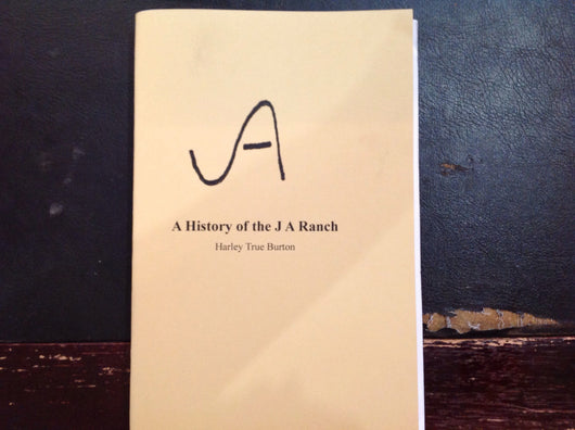 BOOKS - A History of the JA Ranch (Reprint)