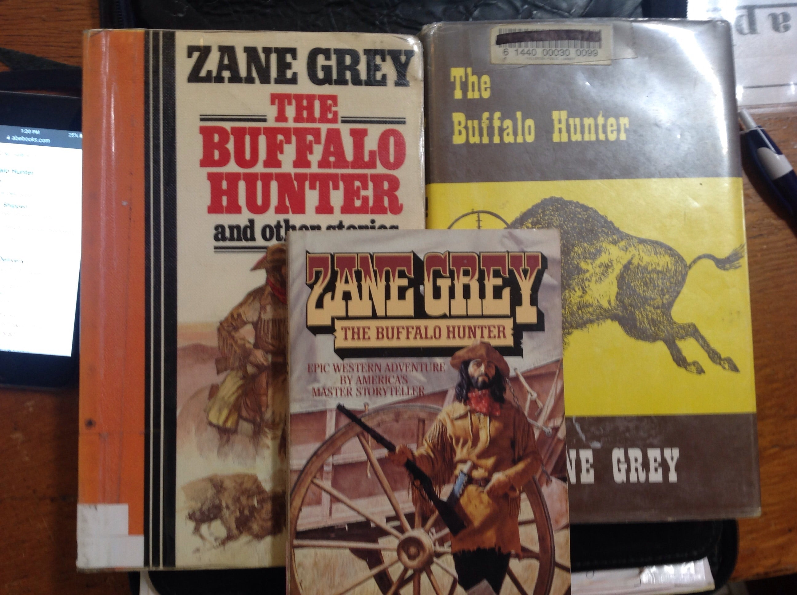 BOOKS - The Buffalo Hunter