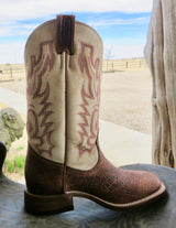 Women's Bison Leather Boulet Rodeo Boot - 7199