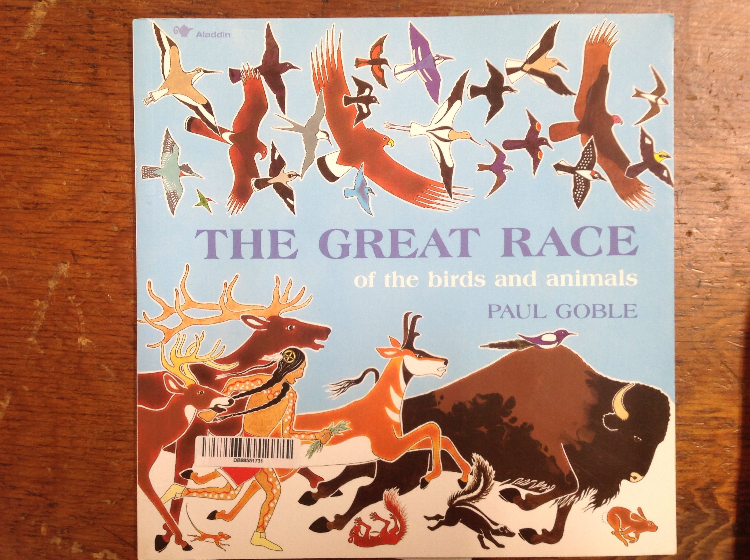 BOOKS - The Great Race of the Birds and Animals