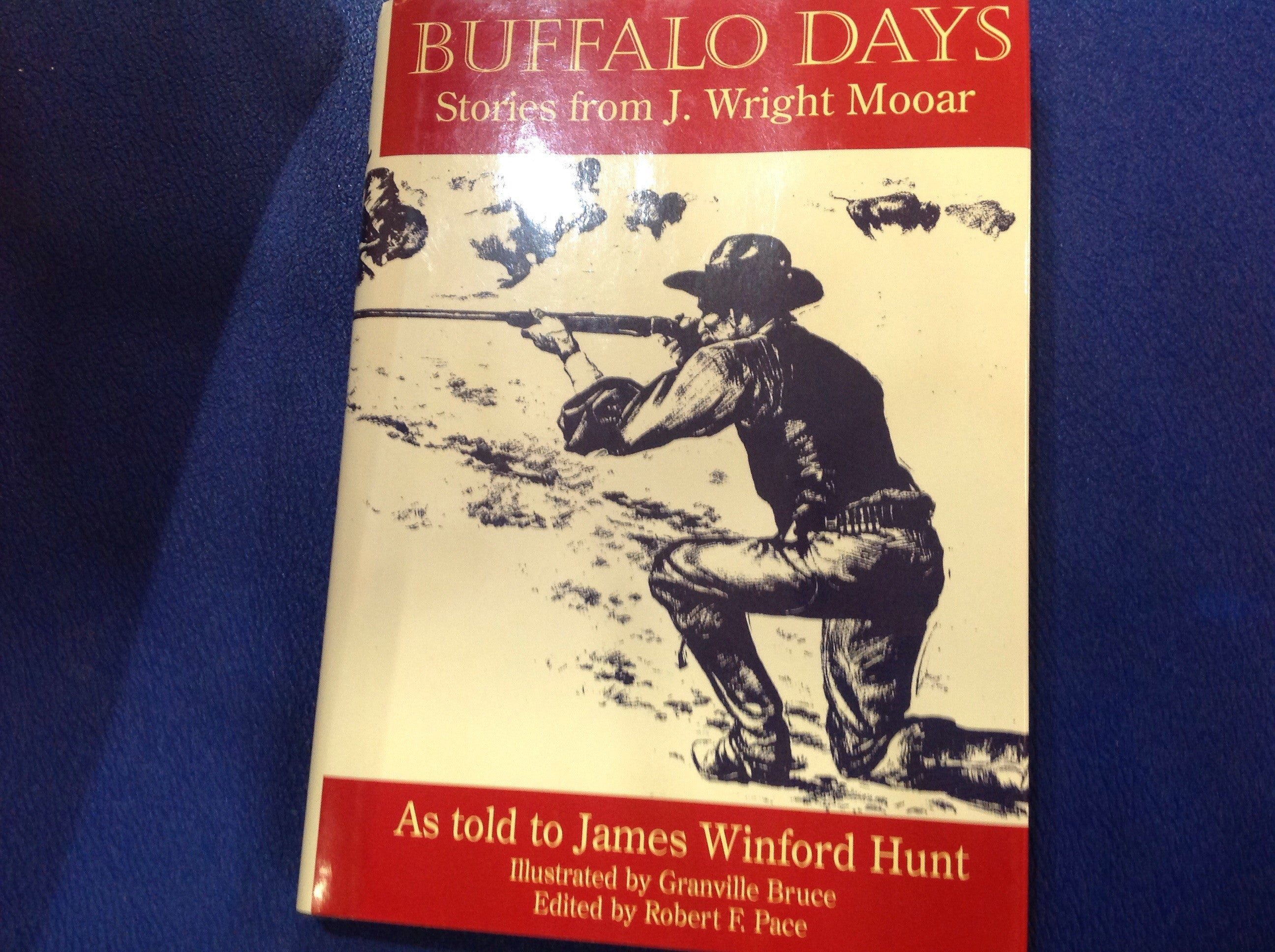 BOOKS - Buffalo Days: Stories From J. Wright Mooar