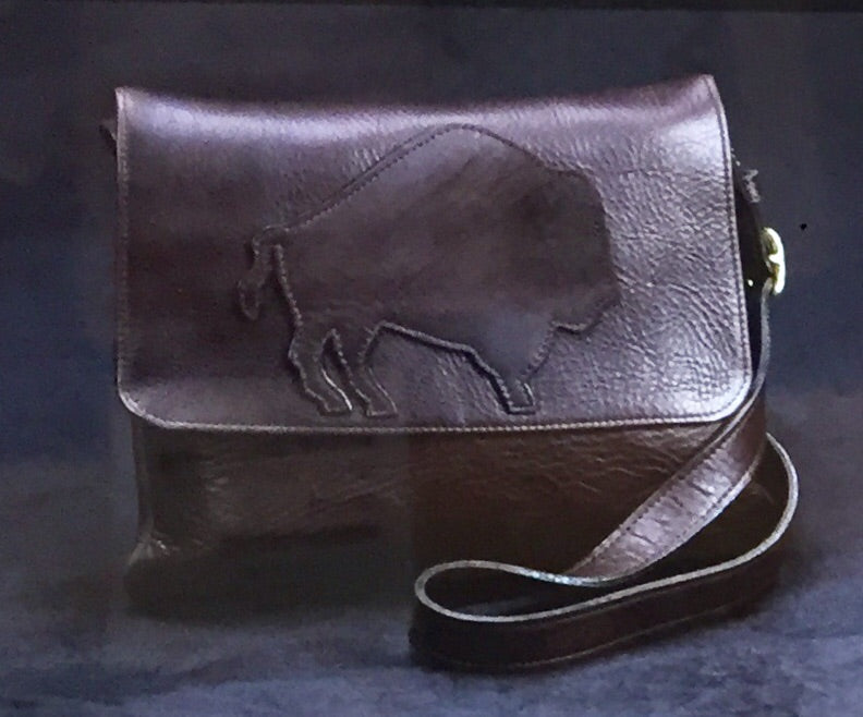 Bison Leather Trimstyle Purse