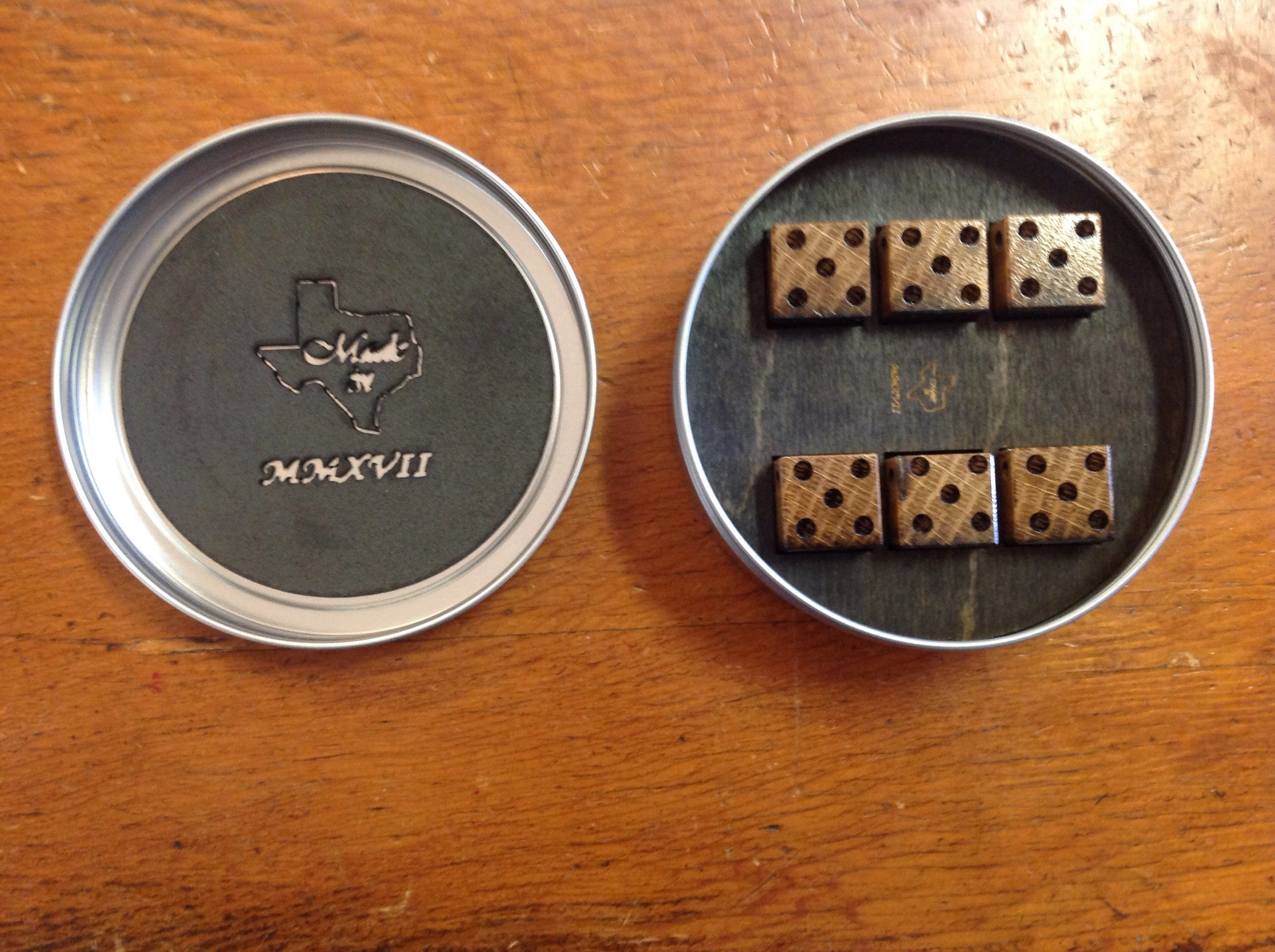 Jack Daniel's Whiskey Barrel Dice