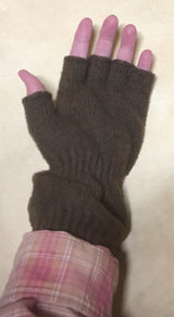 Fingerless Wrist Warmer Gloves