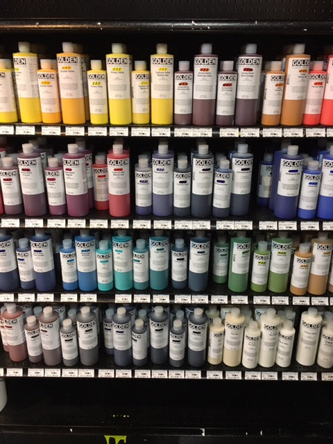 At the Art Store...Or, Where All My Money Goes
