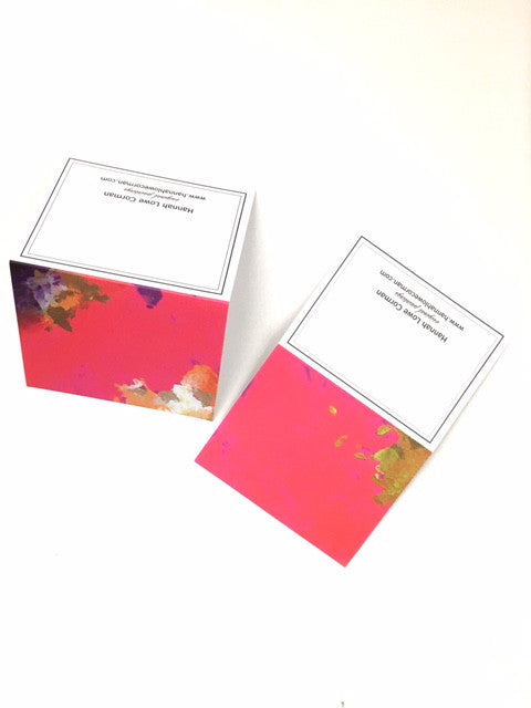 """Pink Pack"" Notecards"