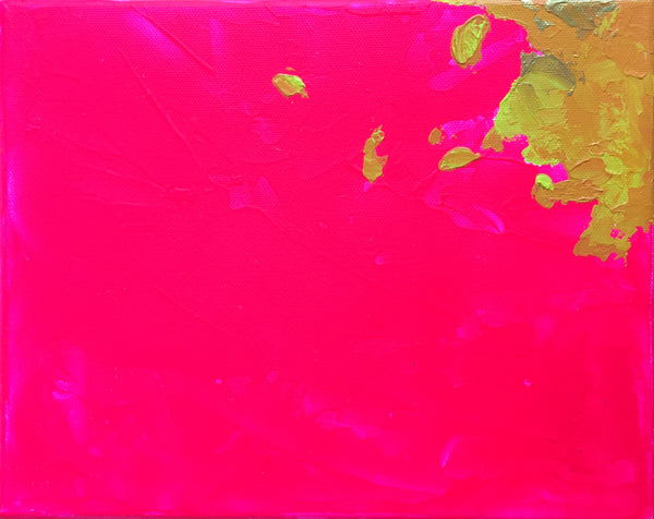 Hot Pink Abstract II 8x10