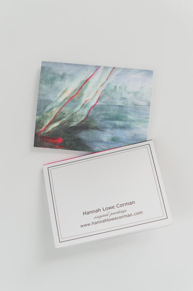 """A Hint of Breeze"" Notecards"
