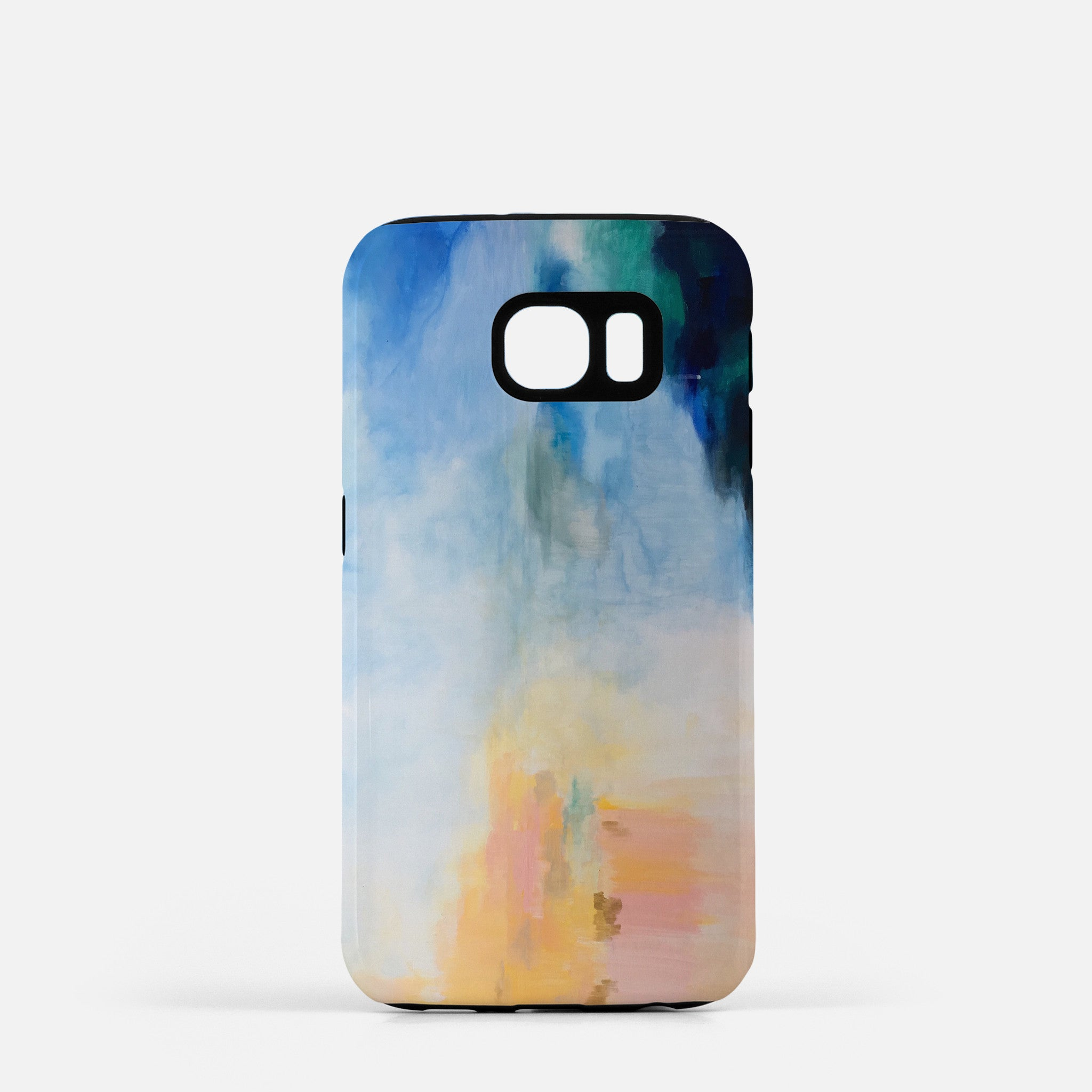 Rainbow Sunset Reflection phone cover