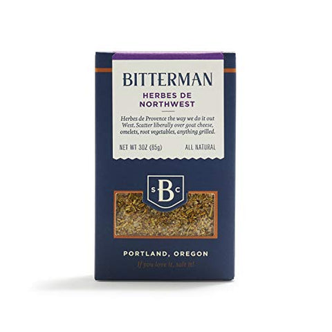 Bitterman Salt Co. Bitterman Herbes de Northwest Salt, 3 oz.