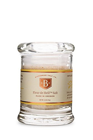 Bitterman's Fleur de Hell Sea Salt - Small Jar