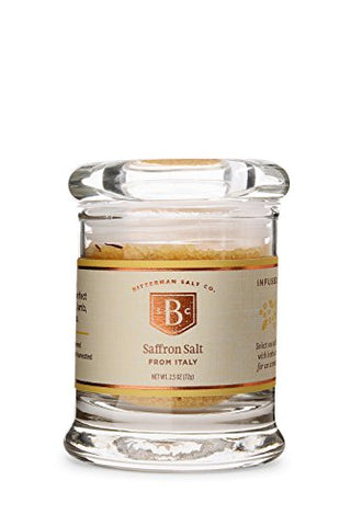 Bitterman's Saffron Sea Salt - Small Jar