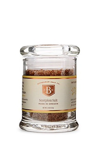 Bitterman's Scorpion Sea Salt - Small Jar