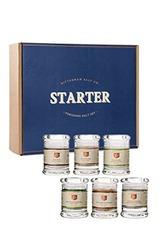 Bitterman's Salt Starter Set - 2oz jars