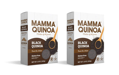 Mamma Quinoa, Mother of All Grains, Quinoa; Case Pack of 12 boxes, 12 Ounces Each