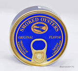 Smoked Oysters - All Natural Farmed in USA - Willapa Bay Washington by Ekone Oysters - Bear Claw Organics, LLC