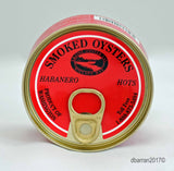 All Natural Habanero Flavored Ekone Smoked Oysters