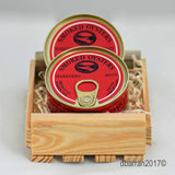 Corporate Gift Packaged 2 cans Ekone Smoked Oysters Habanero Hots All Natural Flavor