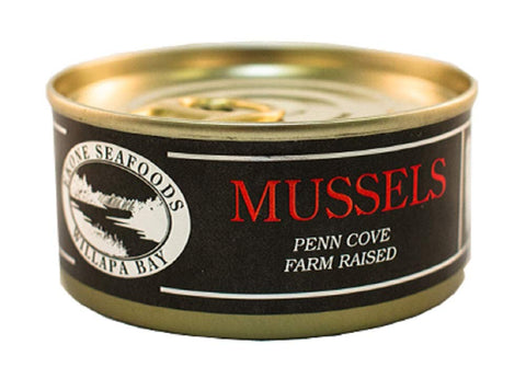 Farm Raised Smoked Mussels, 2.75 oz
