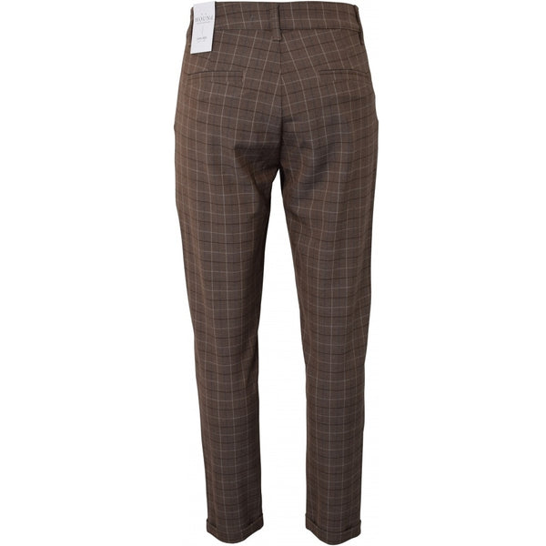 HOUNd BOY Fashion Chino Checks pants Brun