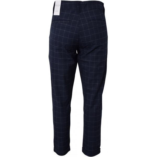 HOUNd BOY Fashion Chino Checks pants Navy