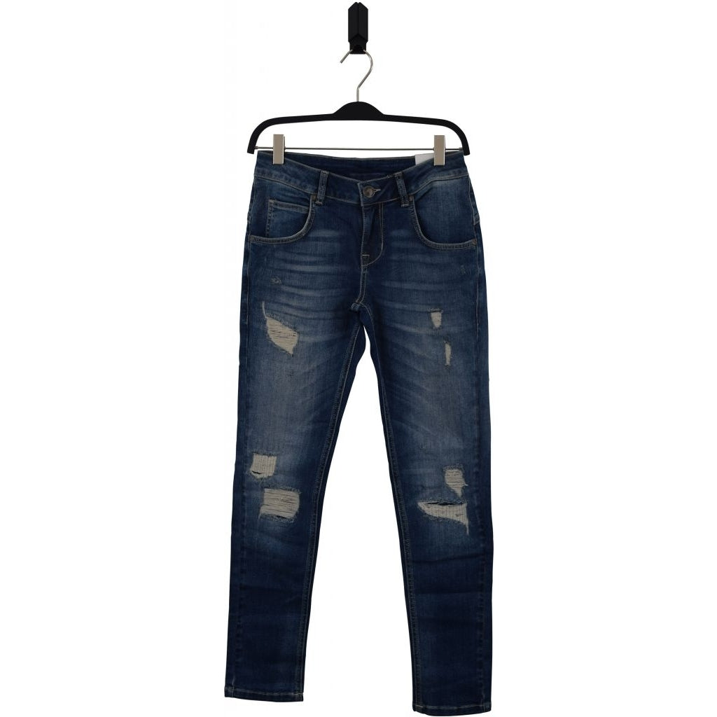 Pipe Jeans 2181021 Trashed blue