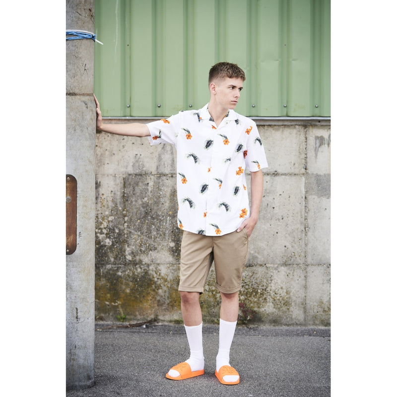 HOUNd BOY Shirt S/S Loose fit shirt Hvid