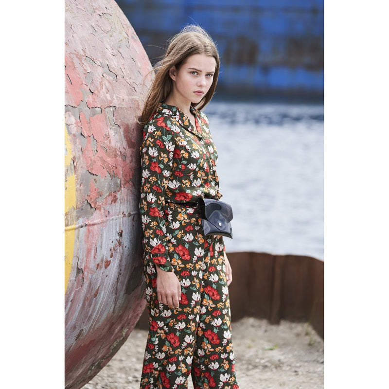 HOUNd GIRL Safari jumpsuit jump suit Blomsterprint