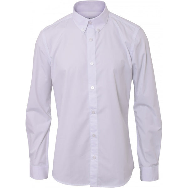 HOUNd BOY Shirt Plain button down shirt Hvid