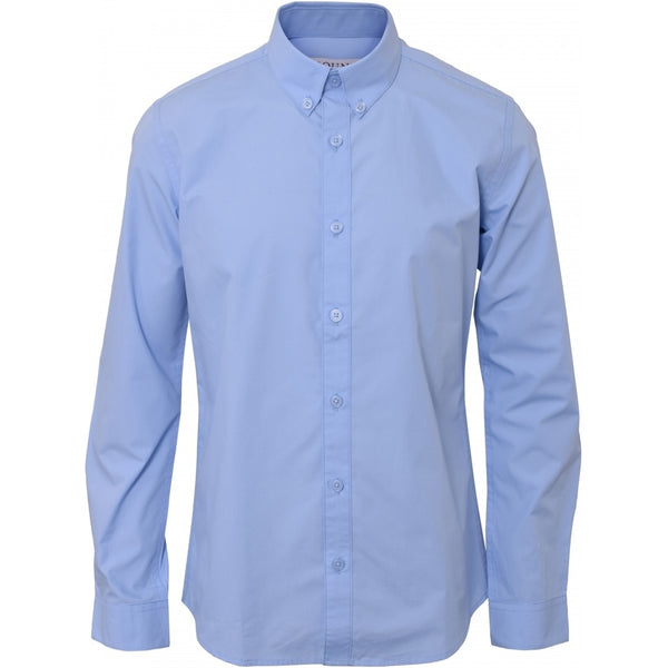 HOUNd BOY Shirt Plain button down shirt Lyseblå