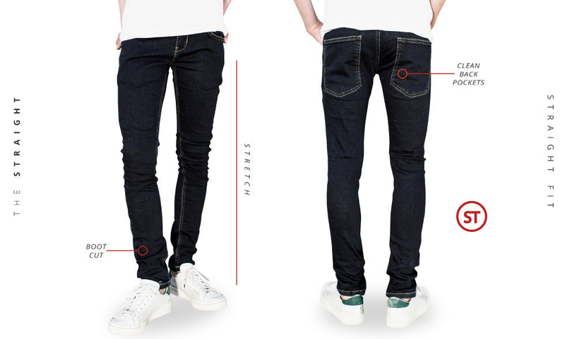 jeans guide straight
