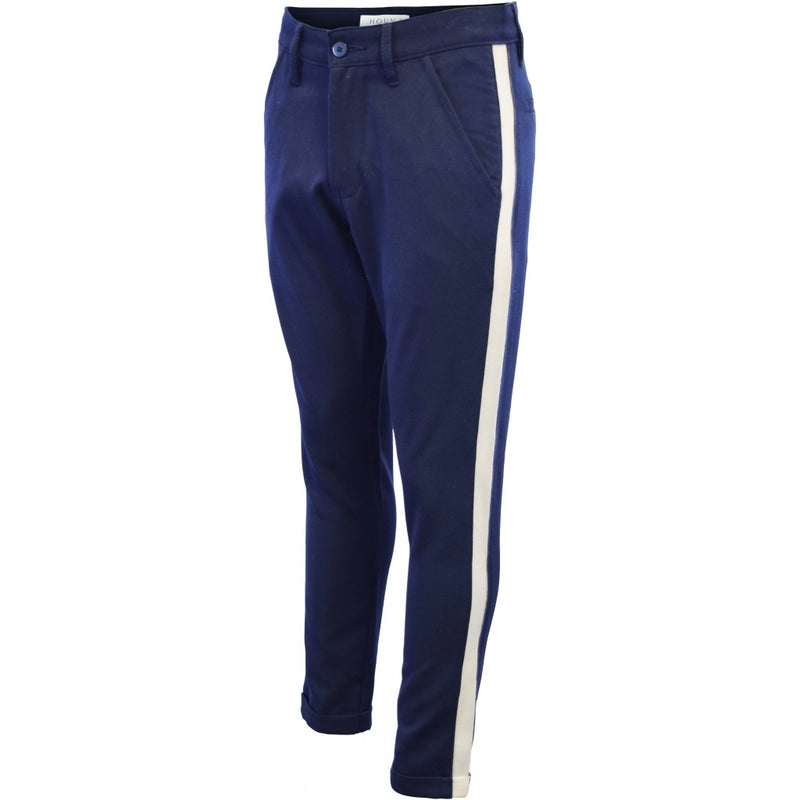 HOUNd BOY Fashion Chino w/stripe effect pants 338 Navy/white