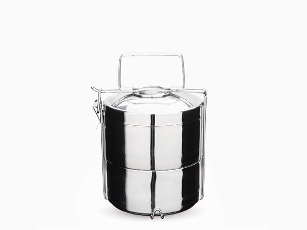 Lunchbox Inox 2 compartiments Tiffin