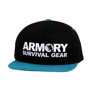 Armory 2 Tone Snap Back/Turquoise