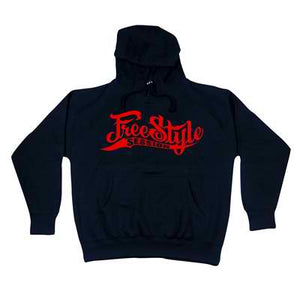 Freestyle Session Hoody Black w/Red