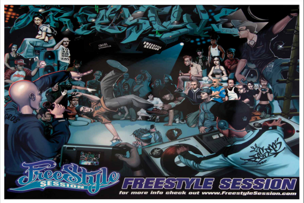 Freestyle Session 3-6 Posters