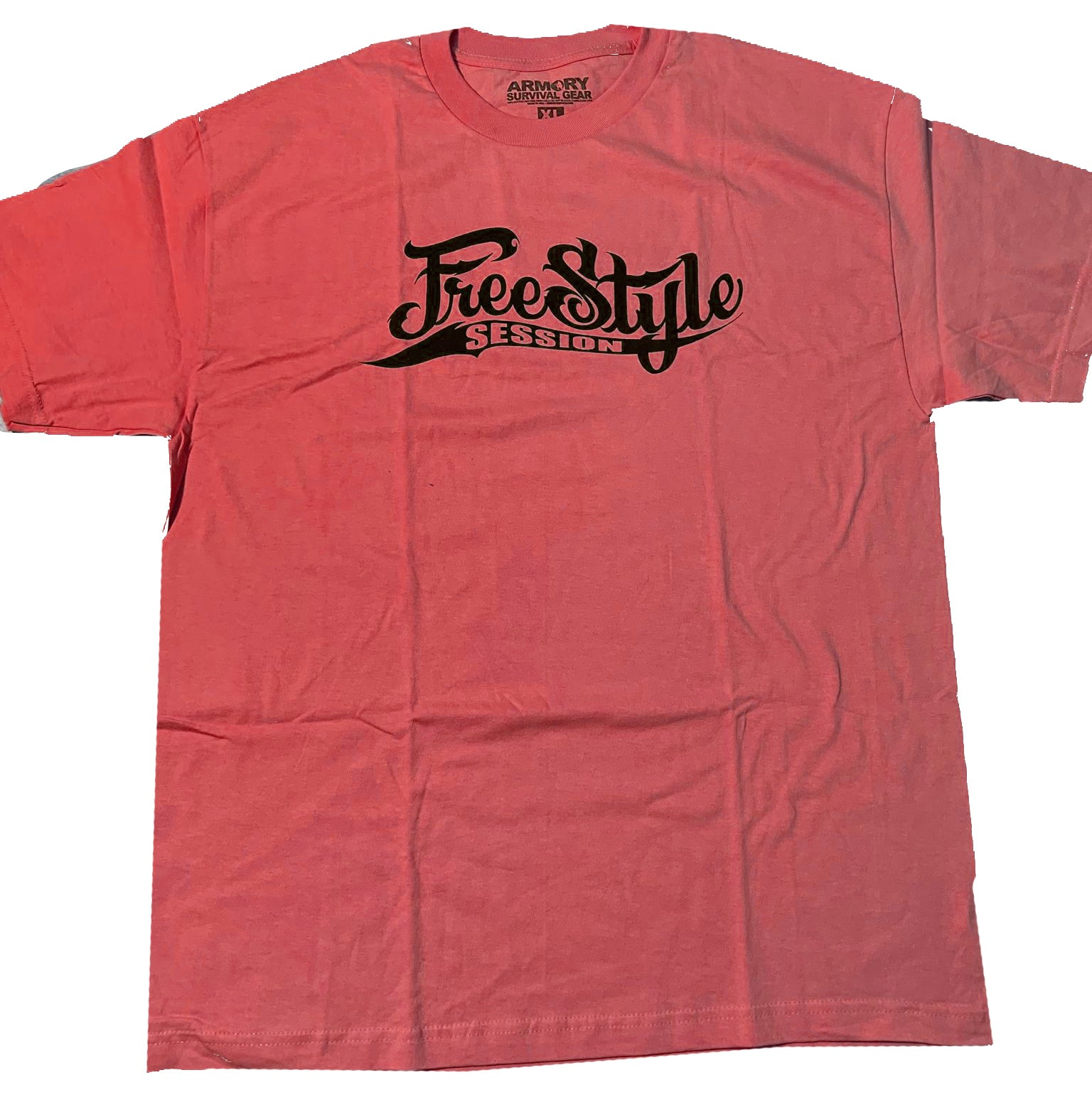 Freestyle Session Logo Tee - Dark Red