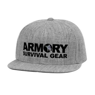 Armory Snap Back Athletic Grey