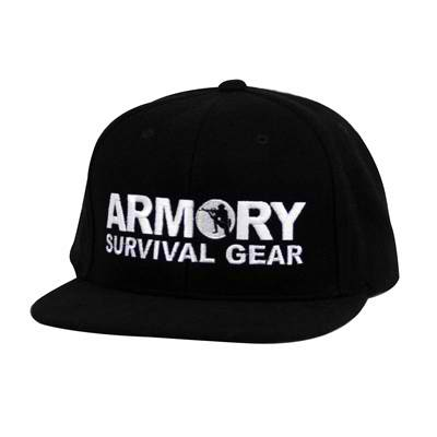 Armory Snap Back Black