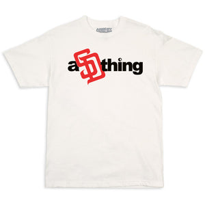 Armory aSDthing White w/ Black & Red T-Shirts