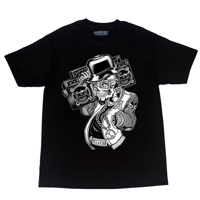 Armory Skull Radio Men's T-Shirt
