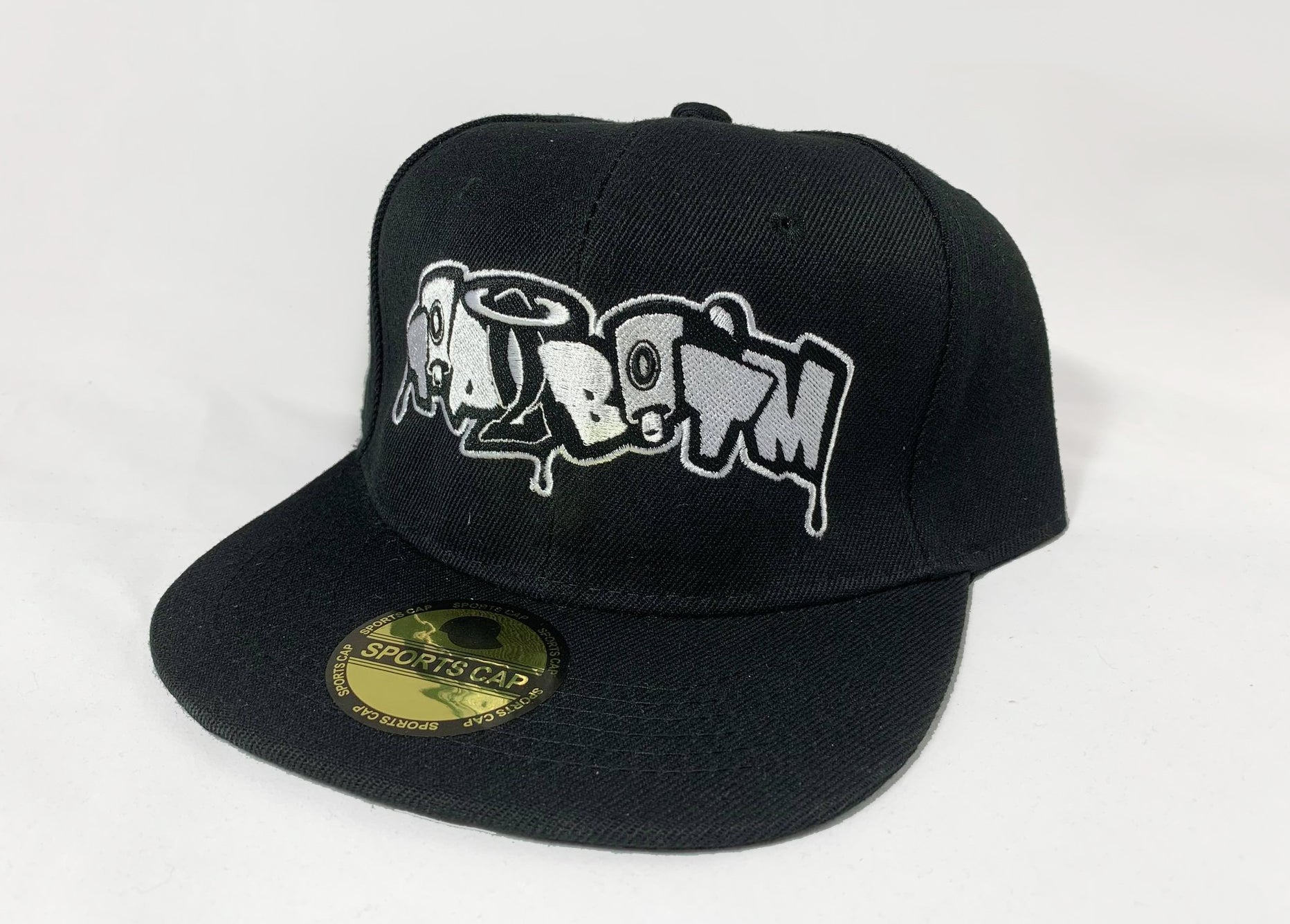 - Top 2 Bot'm Rocker Logo Black Snapback