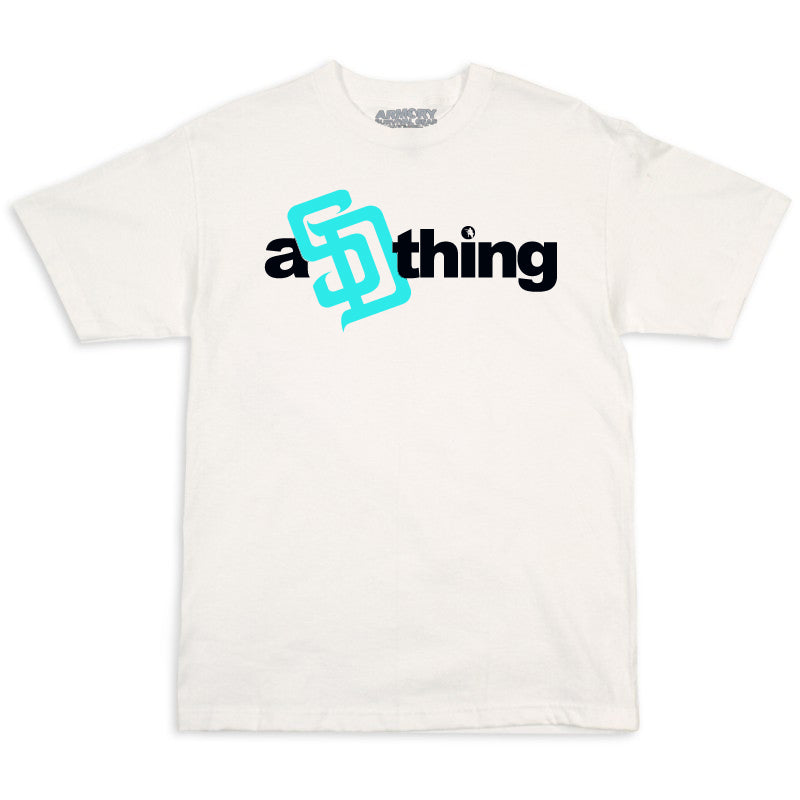 Armory aSDthing White w/ Black & Tiffany Blue T-Shirts